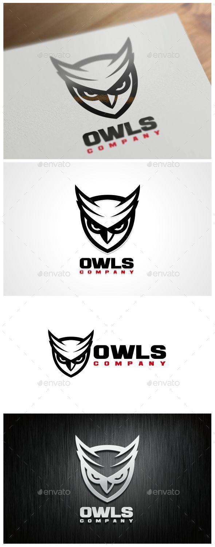 Owls Logo Template