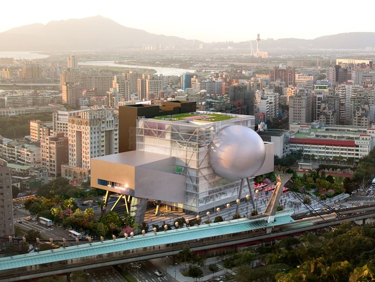 OMA: taipei performing arts center breaks ground