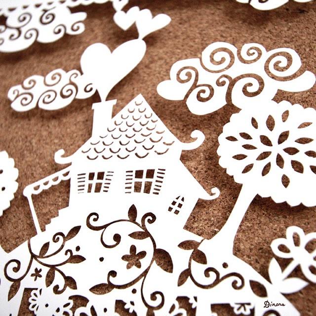 Cut Paper - 1 of my favorite designs, love it!! ♡♡S.K.C.