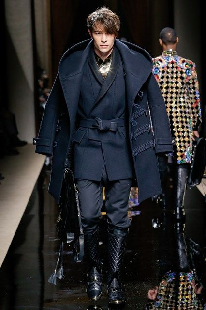 Balmain Autumn/Winter 2016 Menswear