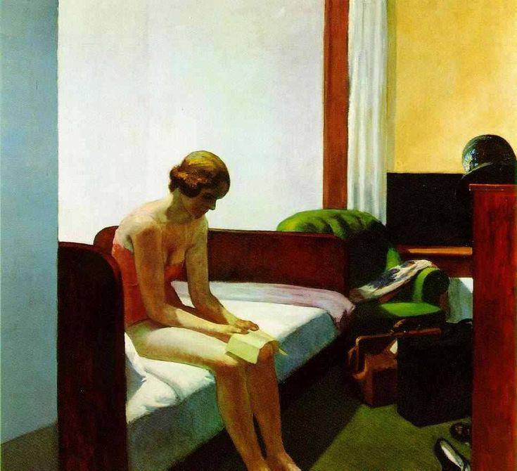 Edward Hopper — Hotel room, 1931, Edward Hopper