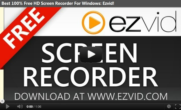 Ezvid - Best Free Screen Recorder and Video Editor