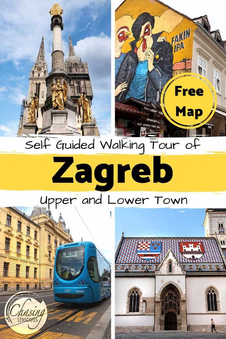 Things To Do In One Day In Zagreb Walking Tour And Tips Europe Travel Eastern Europe Travel Europe Travel Destinations