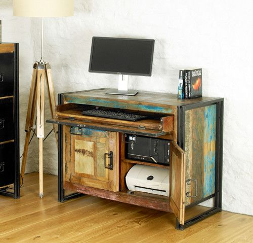Beautiful Reclaimed Urban Chic Desk - Shop Now. – Chattels