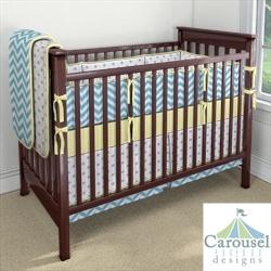 My Carousel Designs Custom Baby Bedding #3