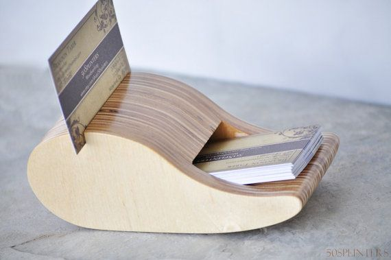 business card holderBusiness Cards Holders, Cards Ideas, Etsy, Cards 2 0, Woodworking Business, Cards 20