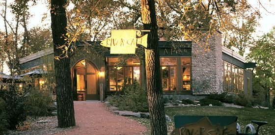 The River Cafe, Calgary.  Love that its recommended by New York Magazine :)