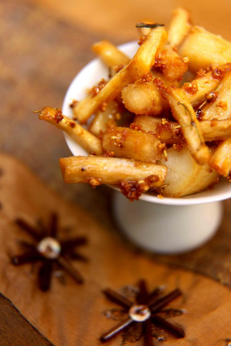 Wild About Salsify (Recipe for Salsify Pan-Glazed with Elder Flower Honey)   Hunger and Thirst