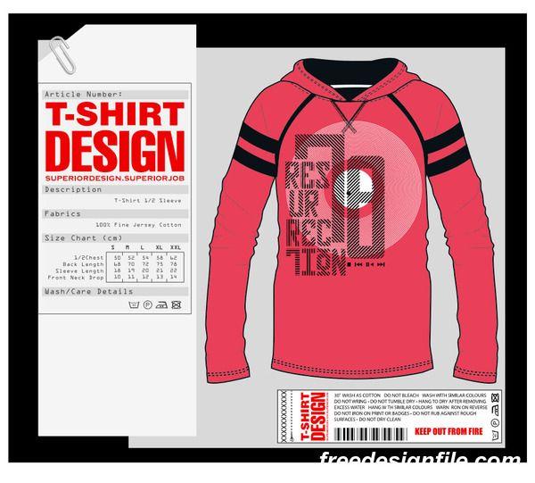 Mode T Svg Datei Fashion T Shirt Vorlage Design Vektor Material 06 Kostenlos Name Fashion T Shirt Design Vektor Vorlagematerial Vector Free Vector Fashion