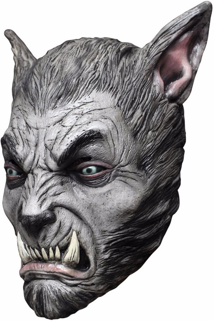 Awesome Costume Accessories Beast Silver Wolf Latex Mask just added...