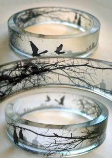 Zobacz zdjęcie Jak Wam się podobają takie pierścionki? Dość nietypowe:)