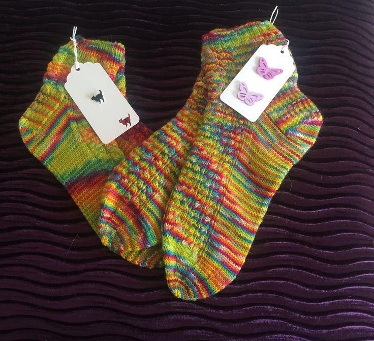 My hand knit socks