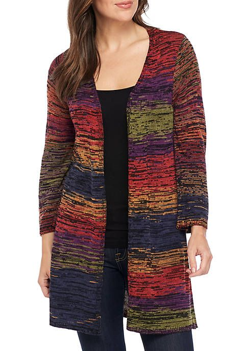 fa3613c96dbe New Directions® Rainbow Marled Cardigan | Sweaters/Cardigans/Vests ...