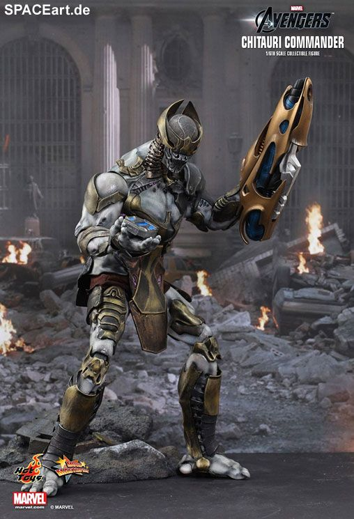 The Avengers: Chitauri Commander und Footsoldier, Voll bewegliche Deluxe-Figuren ... http://spaceart.de/produkte/tav002.php