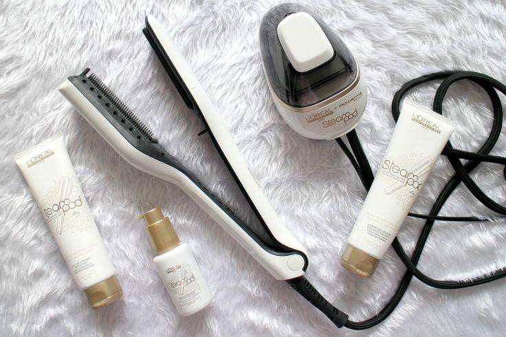 Loreal steam pod hair straightener