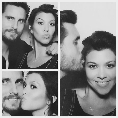 So much love for Kourtney and Scott, and this picture!