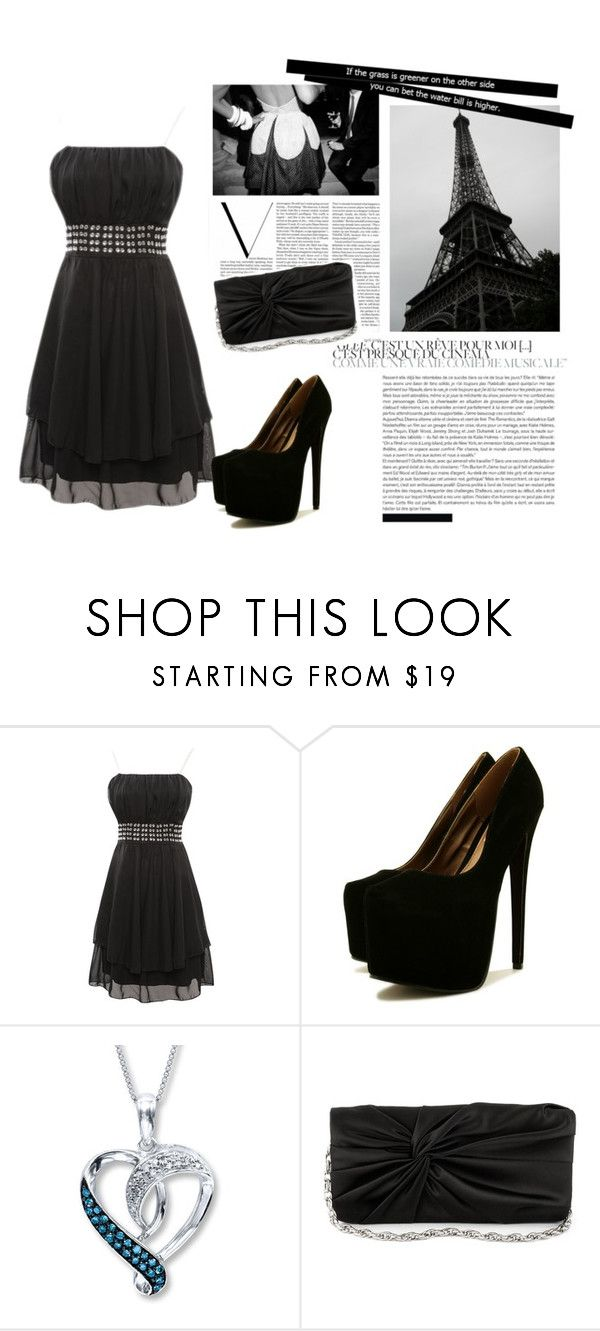 """""""Мода Парижа"""" by heyli ❤ liked on Polyvore featuring White House Black Market and Victoria Beckham"""