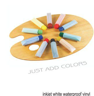 Amazon.com : Papilio Inkjet White Vinyl Decal Paper 10 Sheets : Inkjet Printer Paper : Office Products