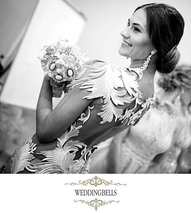 Want to be different? Look at the details on that dress  Simply Stunning! Available at WEDDINGBELLS Valletta   #maltafashionweek #mercedesbenzfashionweek #glamourous #bridesmilephotography #originalgowns #stylishbride #blackandwhitephotography #contemporarygown #stunningdress #modern #mfwa2016 #forbridestobe #collection2017annaromysh #bridalhautecouture #annaromyshhautecouture #bridalfashionshow #futurebride #brides #wedding #allforweddings #weddingbells #weddingbellsvalletta