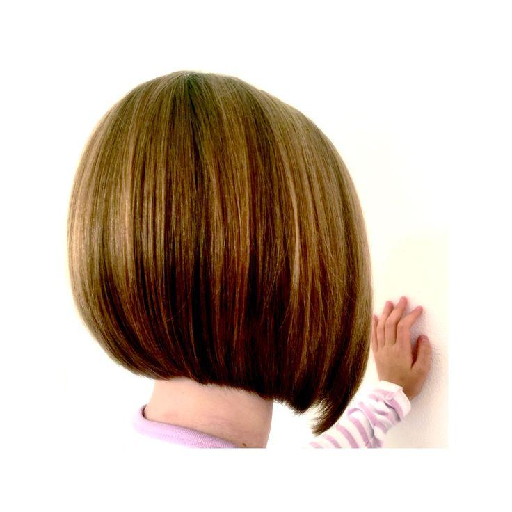 Girls haircut Bob