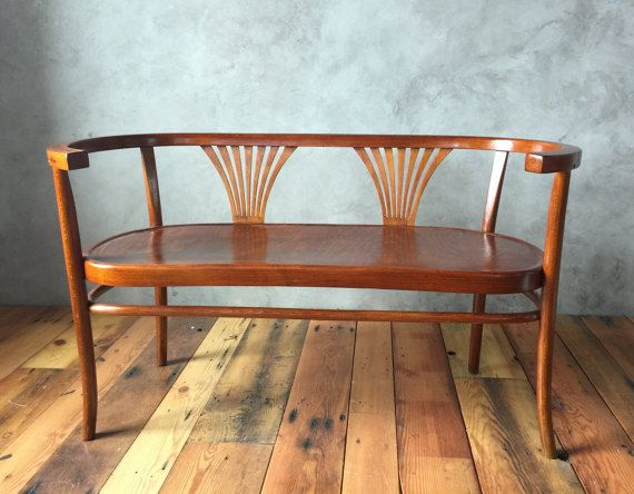 Hey, I found this really awesome Etsy listing at https://www.etsy.com/listing/251805909/thonet-bentwood-benchsettee-circa-1900s