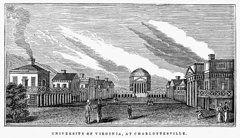 University Of Virginia Art - University Of Virginia  by Granger