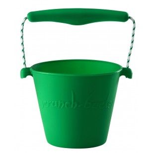 Green Scrunch Bucket