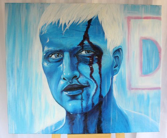 Tears in Rain  Blade Runner Rutger Hauer by SometimesAliceX