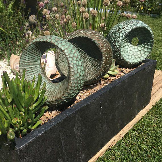 Abstract Form Trio Sculpture Abstract Indoor Sculpture Garden