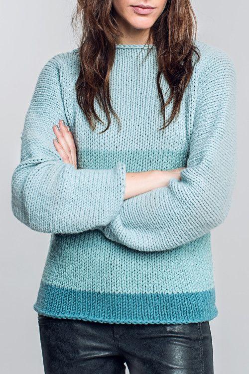 Kostenlose Anleitung: Sweater - Initiative Handarbeit