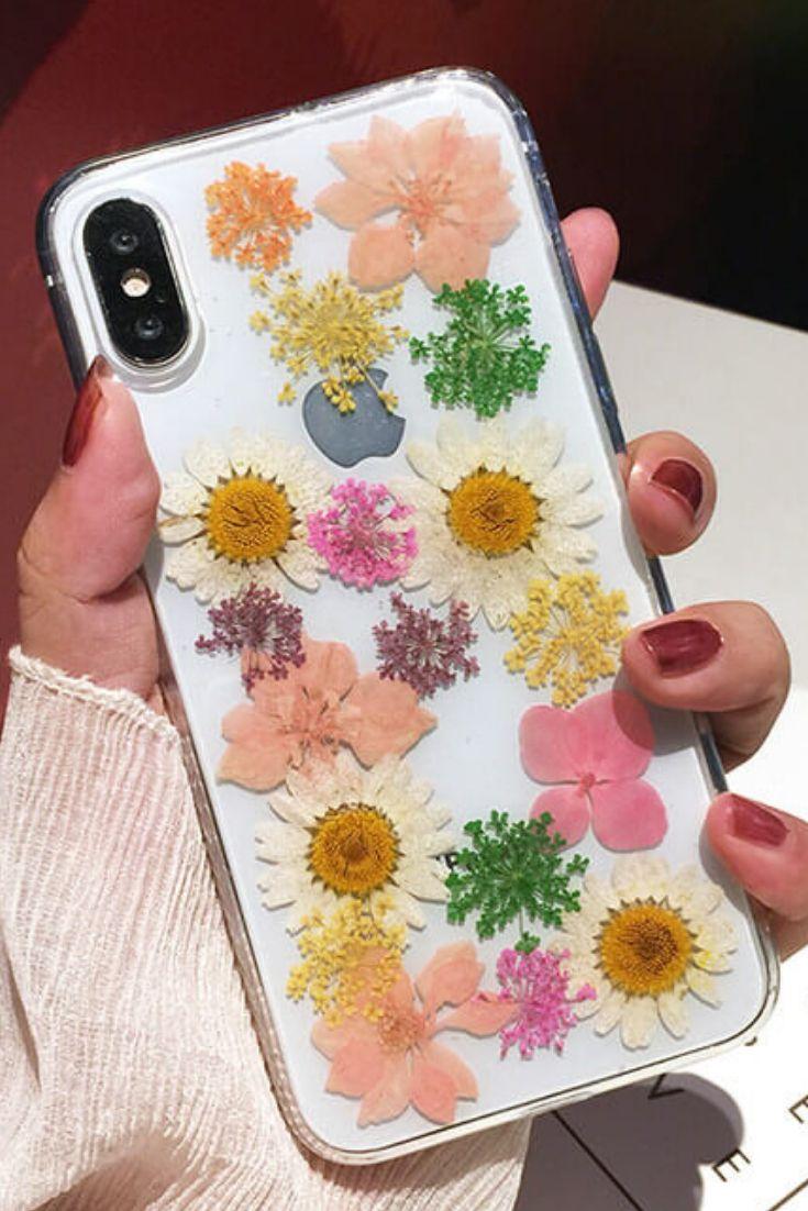 Genuine Pressed Dried Flower iPhone 6, iPhone 6 Plus, iPhone 7, iPhone 7 Plus, …