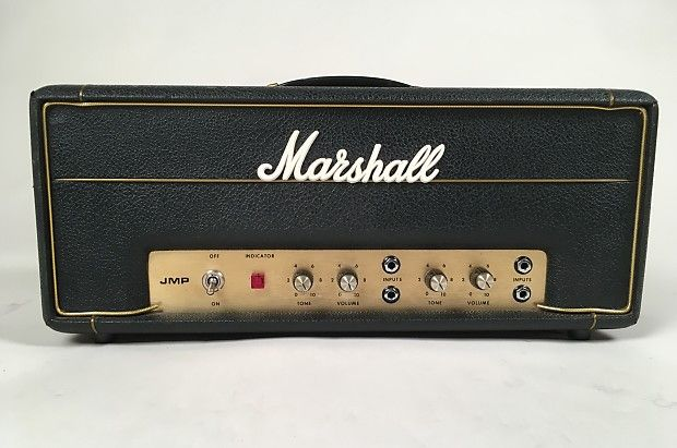 "This a 1972/1973 Marshall Super Lead & Bass Model 2061 20 Watt Head known in the industry as a ""Baby 20"". Rare as hen's teeth! According to Mike Doyle & Brent Bagnano's ""The History of Marshall"", this model was released however, there are no references in any Marshall catalogs as to its existence, making these HIGHLY sought after. It also goes on to state that there is a circuit diagram referring to its schematic, which references it as a model 2061. T"