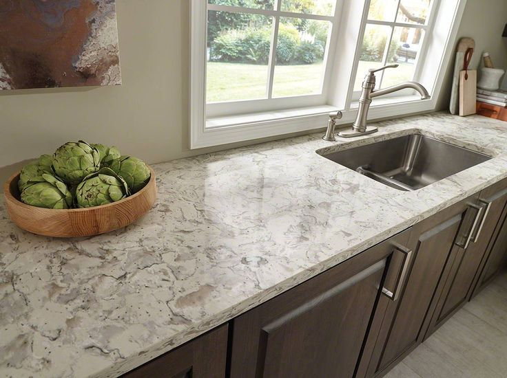 Romano White Quartz Granite Countertops Granite