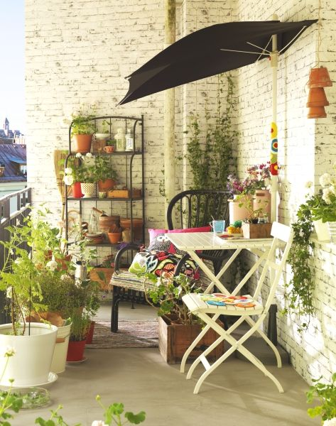 Get inspired to turn your small space into a great outdoor space this season with versatile furniture and accessories from IKEA.