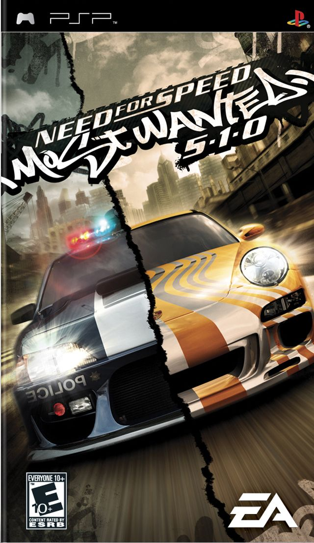 Need For Speed Most Wanted 5 1 0 Psp In 2020 Need For Speed