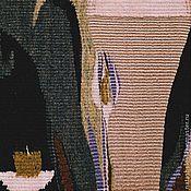 """Картины и панно ручной работы. Ярмарка Мастеров - ручная работа Гобелен """"Бокал"""". Ручное ткачество.. Handmade."""