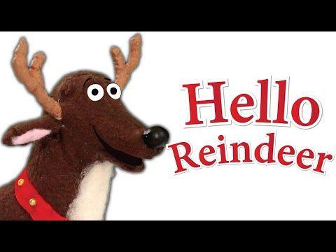 English Corner Time: Hello, Reindeer | Children's Christmas Song http://englishcornertime.blogspot.com