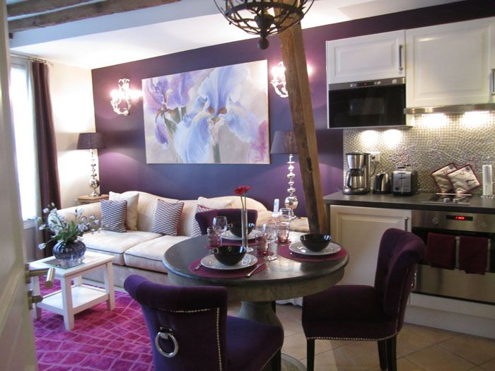 Drooling My Fav Color Love Watching Adrian On House Hunters International France Pinterest Paris Apartments And Apartment Rentals