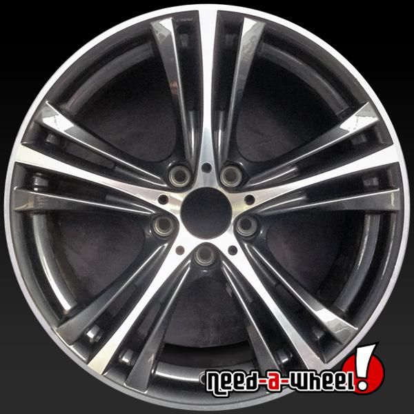 2019 Bmw 430i Oem Wheels For Sale 19 Machined Stock Rims 86405 Oem Wheels Wheels For Sale Wheel Rims