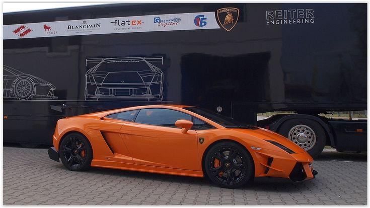 Reiter Engineering Lamborghini Gallardo Supertrofeo Strada Body Kit