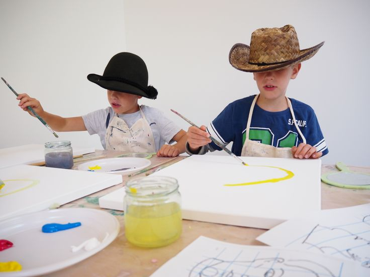 Ontdek jouw schildertalent bij de schilderworkshops in Singer Laren! #museum #schilderen #kinderen
