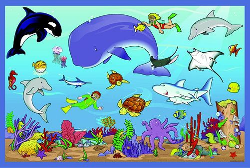 Animal Clip Art | Ocean Animals Clip Art 070212» Clip Art ...