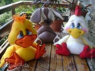 Мастер-класс по шитью игрушек: Цыплёнок и Ко