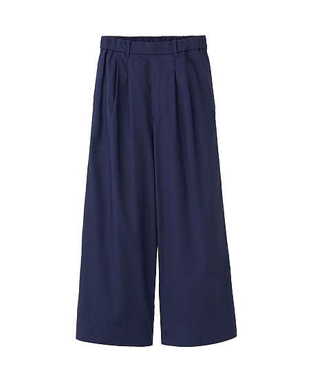 Innovative Arianne Pima Cotton Knit Pants For Women In Blueberry