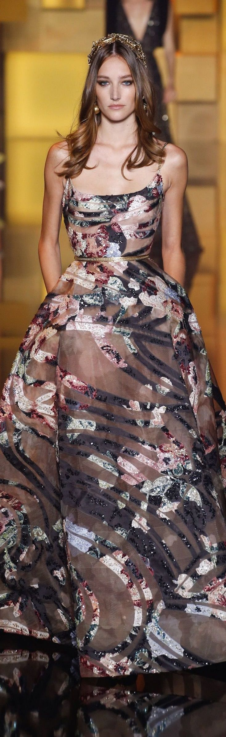 London Film Festival 2015 T. Elie Saab FW 2015 couture
