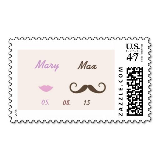 Lady - Gentleman Postage Stamp