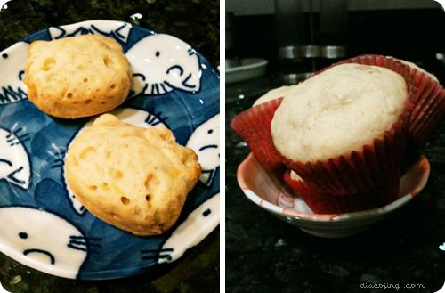 Banana & Cream Cheese #Muffins: Banana, Cream Cheese Muffins, Dessert