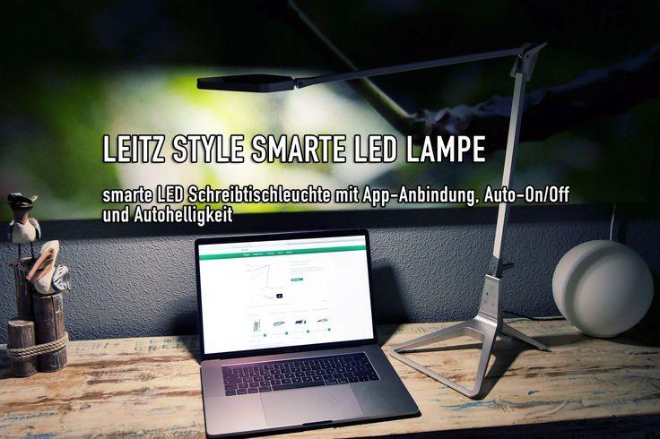 """Leitz Style smarte LED Schreibtischleuchte mit App-Steuerung & USB-Ladegerät - https://apfeleimer.de/2017/04/leitz-style-smarte-led-schreibtischleuchte-mit-app-steuerung-usb-ladegeraet - Die smarte Leitz Style LED Schreibtischleuchte im Test: kann die Leitz Style LED Schreibtischlampe im """"smarten Büro"""" überzeugen? Die Leitz Style Smart LED Lampe passt sich automatisch der Helligkeit an, bringt verschiedene Lichtmodi und Lichtkonzepte an den Arbeitsplatz und lä"""