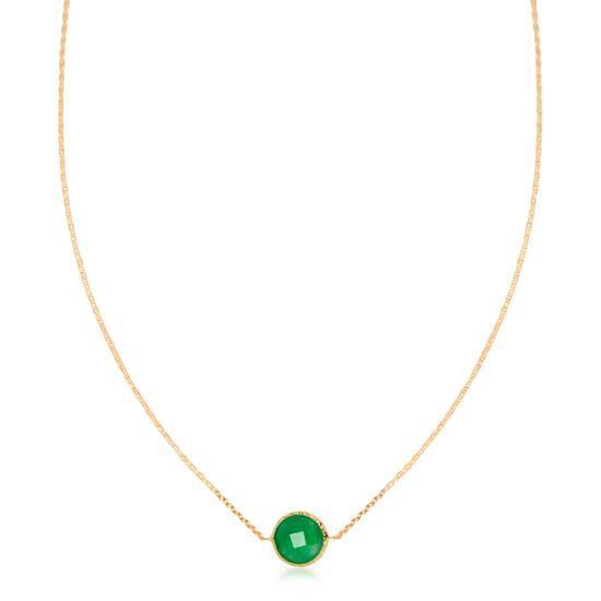 Złoty Naszyjnik, 579PLN www.YES.pl/54554-zloty-naszyjnik-ZW-Z-Z08-N45-CW10336 #jewellery #gold #BizuteriaYES #shoponline #accesories #pretty #style