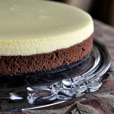 Black and White Cheesecake - Rock Recipes -The Best Food & Photos from my St. John's, Newfoundland Kitchen.
